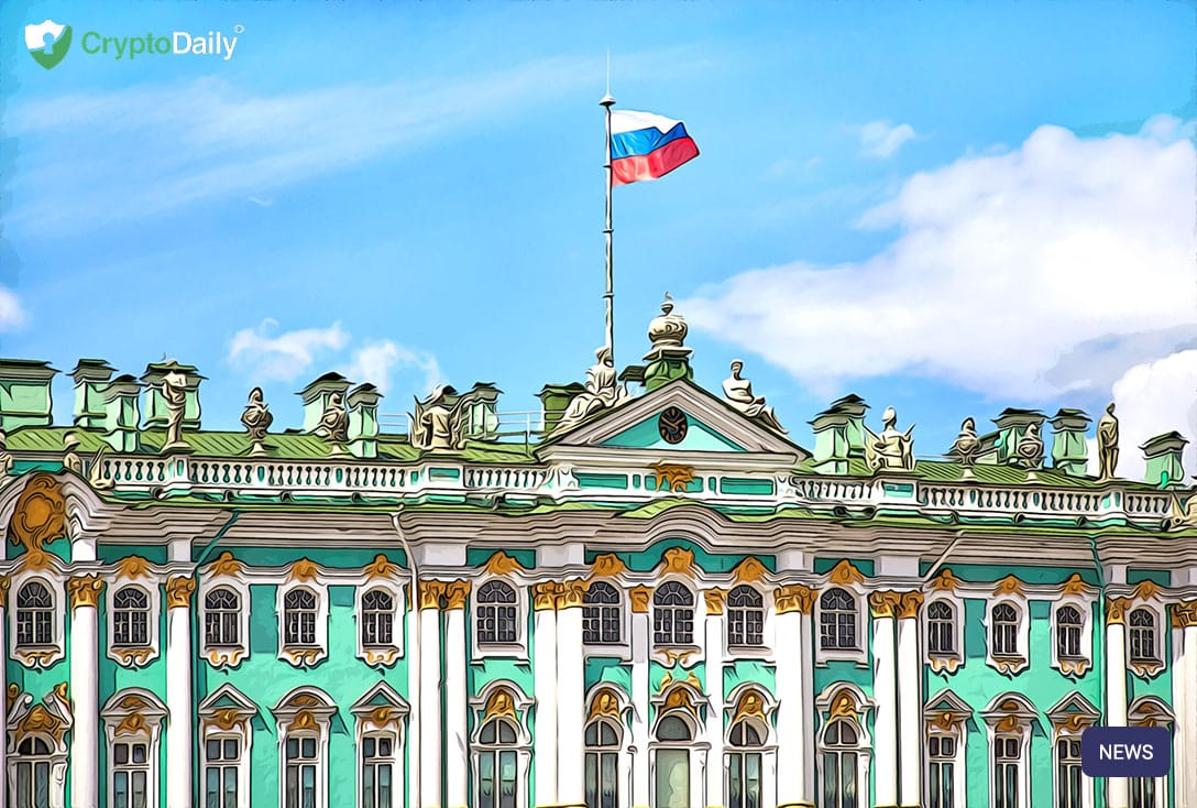 russia-flag-building